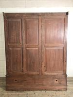 Large Victorian Mahogany Triple Compactum Wardrobe (5 of 11)