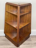 Pair of Mid Century G Plan E Gomme Pyramid Teak Open Corner Bookcases (14 of 38)