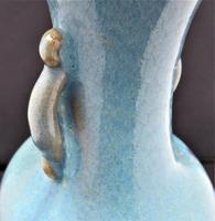 Chinese Jun Yao/Chun Glaze Stoneware Vase, Song Dynasty Style, Probably 19th Century (7 of 11)