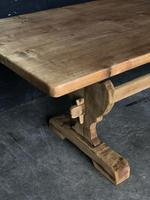 Trestle End Oak Farmhouse Dining Table (18 of 18)
