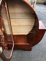 Art Deco Walnut Display Cabinet (10 of 11)