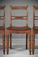 7 Antique Fruitwood Kitchen Chairs (4 of 9)
