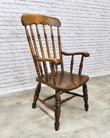 Large Victorian Windsor Spindleback Armchair (2 of 5)