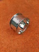 Sterling Silver Hallmarked Napkin Ring 1960, Barker Brothers Silver Ltd