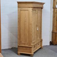 Small Old Pine Wardrobe Dismantles (4 of 5)