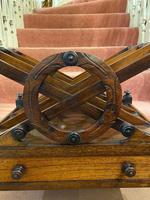 Regency period Rosewood 3-section X-Frame Canterbury (2 of 6)
