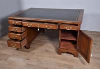 Antique 19th Century Mahogany Partners Desk (4 of 6)