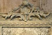 Antique French Crested Mirror (3 of 3)