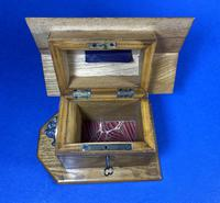 Victorian French Chestnut Dog Kennel Money Box (10 of 10)