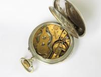 Antique Silver Wille Frères Roskopf Pocket Watch (4 of 5)