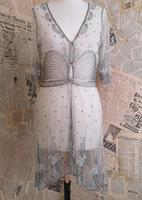 Vintage 1920's beadwork dress, Art Deco (20 of 20)