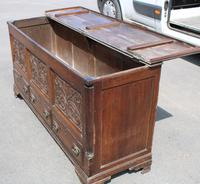 1900's Oak 3 Drawer Mule Chest of Drawers (2 of 5)