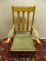 Arts & Crafts oak armchairs - Shapland & Petter (6 of 6)