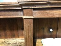 Oak Breakfront Open Bookcase (14 of 20)