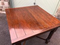 Antique Oak Extending Dining Table (8 of 10)