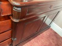 Large Georgian Style Double Sided Partners Desk (28 of 51)
