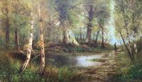 'John Williamson' Superb Woodland Landscape Oil Painting (2 of 11)