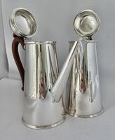 Silver Plated Chocolate Set c.1930 (6 of 8)
