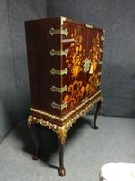 Outstanding Marquetry Cabinet on Stand (15 of 16)