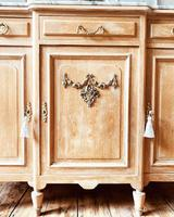 Large French Sideboard / Vintage Marble Sideboard / Buffet (5 of 7)