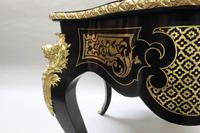 French Napoleon III Ebony and Inlaid Bureau Plat by Millet (11 of 11)