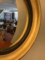 Small Antique Convex Mirror (4 of 5)