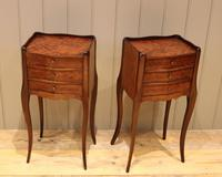 Pair of Mahogany Inlaid Bedside Cabinets (7 of 10)