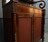 Fine Regency Mahogany Chiffonier Side Cabinet (14 of 18)