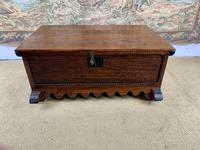 Small Carved Spanish Provincial Coffer (2 of 7)