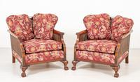 Good Quality Mahogany Bergere Suite (11 of 14)