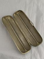 Superb Edwardian Antique Silver Cigar Case Double 1909 Charles Green Cigar Tube (7 of 10)