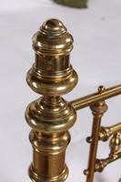 Handsome Super King Size Victorian all Brass Bed (3 of 12)