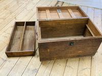 19th Century Oak Tool Chest (11 of 16)