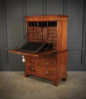 18th Century Walnut Escritoire Cabinet on Chest (8 of 14)