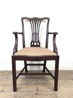 Pair of 19th Century Chippendale Style Armchairs (4 of 11)