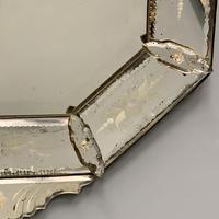 19th Century Cut & Etch Venetian Mirror (6 of 10)