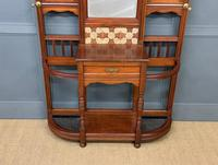 Large Victorian Walnut Hall Stand by James Shoolbred and Co. (6 of 17)