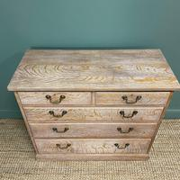Superb Quality Limed Oak Antique Chest of Drawers (3 of 8)