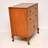 Antique Burr Walnut  Chest on Cabinet (9 of 12)