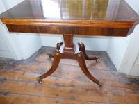 English Regency Card Table (9 of 9)