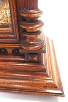 German Carved-Oak 8-Day Mantel Clock by Junghans (12 of 13)