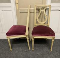 Set of 6 Harp Back French Dining Chairs (15 of 17)