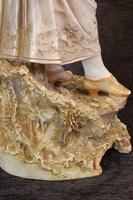 Impressive Large Antique Figure of Young Girl (8 of 28)