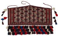 Antique Turkmen Yomut Asmalyk Wedding Rug