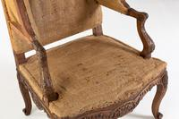 Pair of 19th Century French Oak Armchairs (9 of 9)