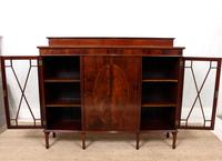 Bookcase Astragal Glazed Inlaid Mahogany (3 of 10)