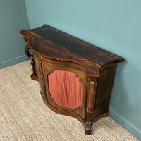 Spectacular Figured Rosewood Serpentine Victorian Antique Credenza (7 of 8)