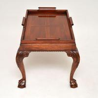 Mahogany Chippendale Style Tray Top Coffee Table (5 of 12)