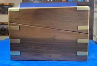 Victorian Brass-bound Walnut Writing Slope with Secret Drawers (36 of 39)
