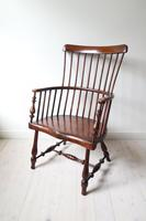 Victorian Scottish Darvel High Comb-backed Windsor Chair, Late 19th Century (5 of 31)